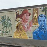 One section of the wall - includes Vincent Price