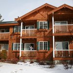 A view of our unit at RedWolf Lakeside Lodge