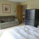 Double Bed with Sofa Bed