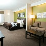 Bright and spacious suites