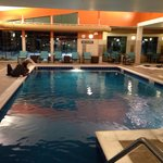 Beautiful indoor swimming pool :)