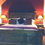 Lovely big bed in the superior loch view room