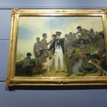 The collection of colonial art is excellent