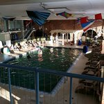 Pool area is nice, gets pretty busy during the weekend days.