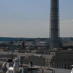 Washington Monument from our balcony, L'Enfant Plaza Hotel