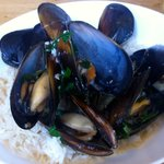 Mussel with rice