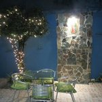 "the patio ""bei nacht"", enchanting!"