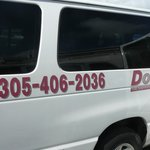 The van Doral Transportation for Hyatt Place Miami