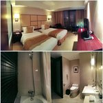 Good-sized room & bath