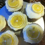 Lemon Bloosom Cup Cakes....Delich