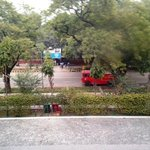 View of Aurangzeb Road from my window