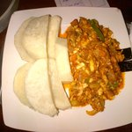 Excellent Ghanian Food