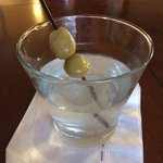 Executive Lounge, Blue Sapphire Martini