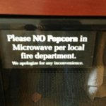 No Popcorn in Microwave