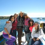 Lake Titicaca with my shamanic family