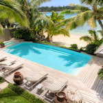 Pool & Beach Frontage