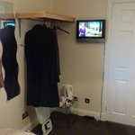 Room wardrobe and entertainment facility