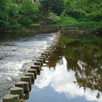 Stepping Stones on the River Wharfe.