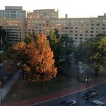 DoubleTree, Washington DC, view from room