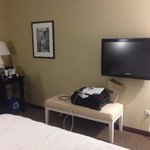 Room 213 - Traditional King - Desk and decent sized TV