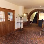 Reception and door to dining / function room