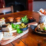 Selection from our British Tapas menu