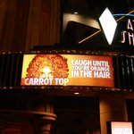 Carrot Top marquee