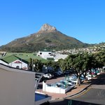 view from the living room of lions head