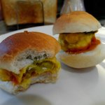 Vada pav - mini veg burger for breakfast
