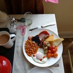 An excellent full English.