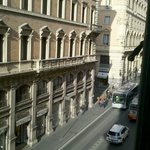 view of tritone st. from second floor room