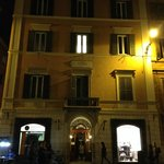 Front of Hotel from Piazza di Spagna