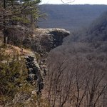 Hawksbill Crag in Upper Buffalo Wilderness Area