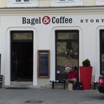 Bagel and Coffee Story Foto