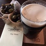 The Old Bell. Olives & Guinness