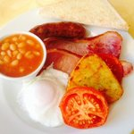 the tastiest, most wonderful cooked breakfast!