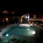 RM 408 Night View of Pool