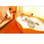 Venusbad in der Private-Spa-Suite