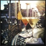 Martinis on the Rooftop