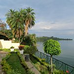 View of Lake Kivu from the hotel