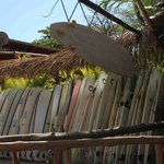Santa Teresa Beach is great for surfing!