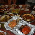 Food walk - chili crabs (two types); this pic shows only 20% of the dishes throughout the night