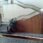 Stair well in the lobby level