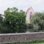 the view from across the river Charente
