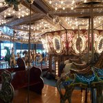 The Carousel; where many had their first ride!