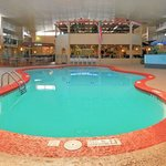 Indoor Heated Pool & Interior View