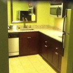 Here is the kitchen