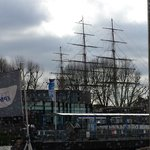 Part of the iconic Cutty Sark