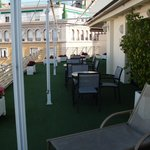 sun terrace 4th floor Derby Hotrl