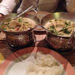 Thai green curry!
